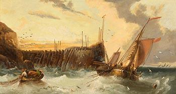 James Webb, Hauling the Nets at Morgan O'Driscoll Art Auctions