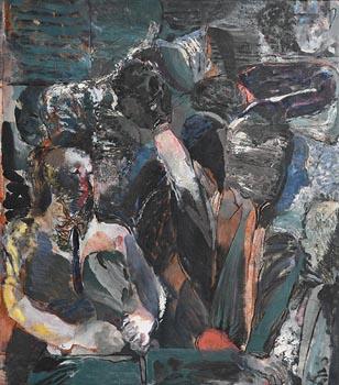 David Crone, Platform Party (1989) at Morgan O'Driscoll Art Auctions