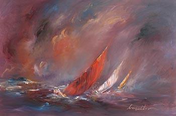 Carol Ann Waldron, The Storm is Near at Morgan O'Driscoll Art Auctions