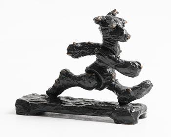 Patrick O'Reilly, Walking Bear (2017) at Morgan O'Driscoll Art Auctions