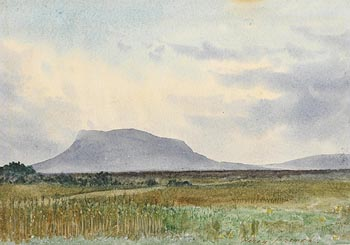 Percy French, Muckish Mountain, Co. Donegal at Morgan O'Driscoll Art Auctions