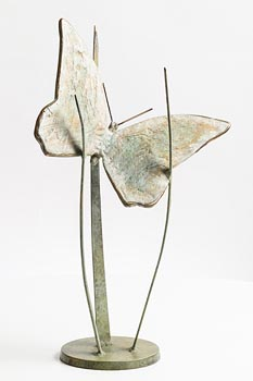 Ray Delaney, Spring Butterfly (2017) at Morgan O'Driscoll Art Auctions