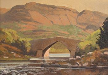John Francis Skelton, Bricin Bridge Lower Lake, Killarney at Morgan O'Driscoll Art Auctions