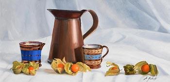 Diana Marshall, Still Life - Copper Lustre at Morgan O'Driscoll Art Auctions