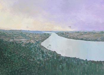 Simon Macleod, Wicklow Morning at Morgan O'Driscoll Art Auctions