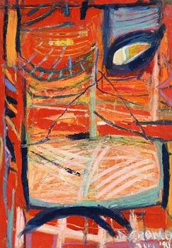 Deirdre Crowley, Orange Field at Morgan O'Driscoll Art Auctions