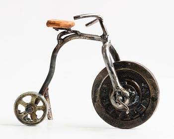 Kelvin Brodie Hunt, Penny Farthing at Morgan O'Driscoll Art Auctions