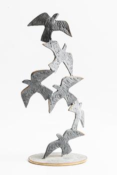 20th Century Irish School, Birds in Flight at Morgan O'Driscoll Art Auctions