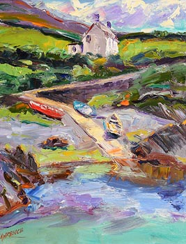 John Lawrence, Coastal Slipway at Morgan O'Driscoll Art Auctions