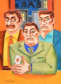 Graham Knuttel, Ace of Diamonds at Morgan O'Driscoll Art Auctions