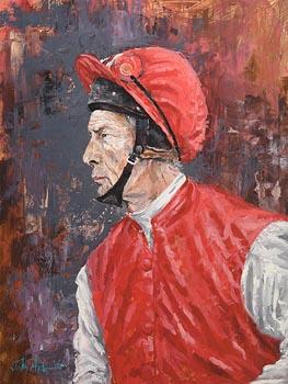 John Fitzgerald, Lester Piggott at Morgan O'Driscoll Art Auctions