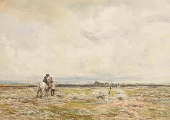 Claude Hayes, On the Moors at Morgan O'Driscoll Art Auctions