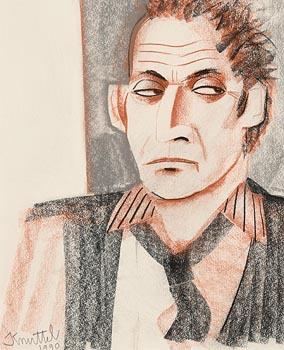 Graham Knuttel, Portrait (1990) at Morgan O'Driscoll Art Auctions