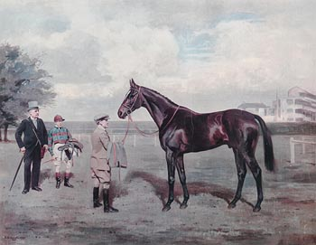 after A.G Haigh, Bahram, Winner of the Derby Stakes 1935 at Morgan O'Driscoll Art Auctions