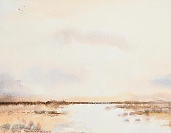 Terence P. Flanagan, Landscape at Morgan O'Driscoll Art Auctions