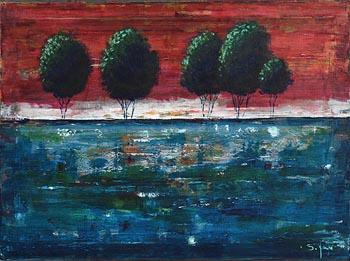 Simone Pourger, Strong at Morgan O'Driscoll Art Auctions