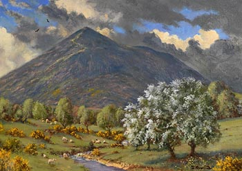 David Anthony Overend, Croagh Patrick, Co. Mayo at Morgan O'Driscoll Art Auctions