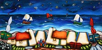 Annie Robinson, Under a Starlight Sky at Morgan O'Driscoll Art Auctions
