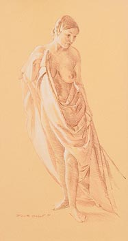 Mark O'Neill, Female Nude (1997) at Morgan O'Driscoll Art Auctions
