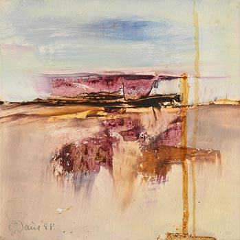 Gerald Davis, Inis Mor, Aran Islands (1988) at Morgan O'Driscoll Art Auctions