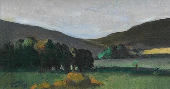 Peter Collis, Glencree Valley, Co. Wicklow at Morgan O'Driscoll Art Auctions