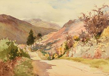 Frank J. Egginton, Mountain Road (1932) at Morgan O'Driscoll Art Auctions