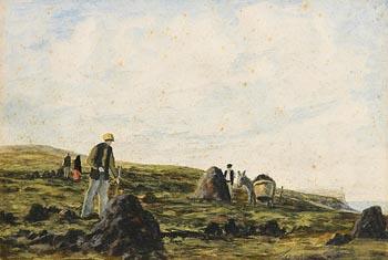 Ciaran Clear, Near Horn Head, Co Donegal at Morgan O'Driscoll Art Auctions
