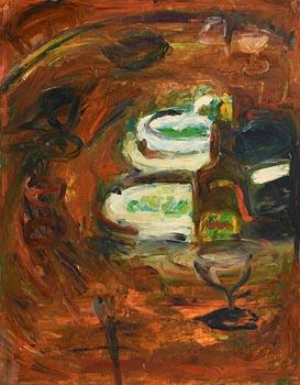 Philip Kelly, Still Life on Tabletop at Morgan O'Driscoll Art Auctions
