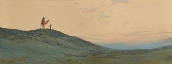 Augustus Osborne, Egyptian Skyline at Morgan O'Driscoll Art Auctions