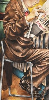 Liza Coggins, Suspect? (1997) at Morgan O'Driscoll Art Auctions