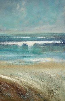 John Hurley, Breakers at Banna at Morgan O'Driscoll Art Auctions