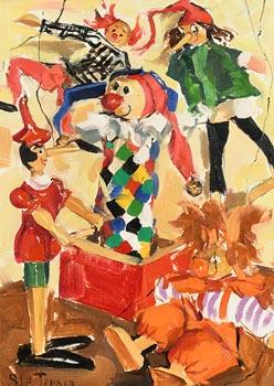 Sara H. Le Jeune, Jack in the Box at Morgan O'Driscoll Art Auctions