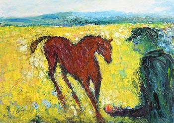 Declan O'Connor, Coaxing at Morgan O'Driscoll Art Auctions