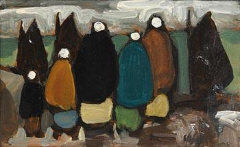 Markey Robinson, The Fish Market at Morgan O'Driscoll Art Auctions