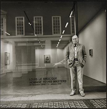 John Minihan, Louis Le Brocquy, Mayfair, London (2006) at Morgan O'Driscoll Art Auctions