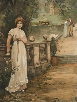 William John Hennessy, Unrequited Love at Morgan O'Driscoll Art Auctions