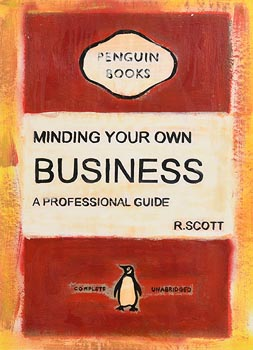R. Scott, Minding Your Own Business, Professional Guide at Morgan O'Driscoll Art Auctions