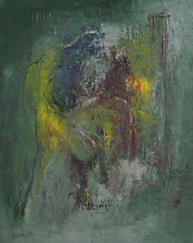 Gerald Davis, Asunder (1983) at Morgan O'Driscoll Art Auctions