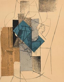 Pablo Picasso, Lithograph I (1966) at Morgan O'Driscoll Art Auctions