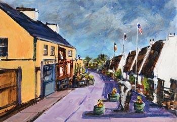 Michael Hanrahan, Tullycross, Connemara (2016) at Morgan O'Driscoll Art Auctions