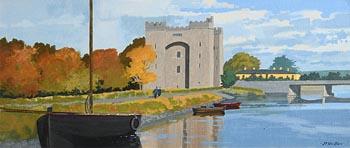 John Francis Skelton, Riverside Stroll at Morgan O'Driscoll Art Auctions