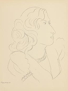 Henri Matisse, Portrait of a Girl at Morgan O'Driscoll Art Auctions