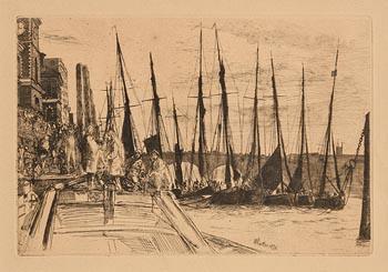 James McNeill, Ballingsgate (1859) at Morgan O'Driscoll Art Auctions