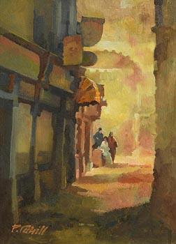 Patrick Cahill, Dublin Laneway at Morgan O'Driscoll Art Auctions