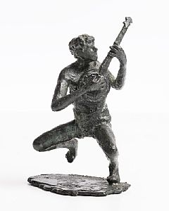 Rowan Gillespie, The Banjo Player (1998) at Morgan O'Driscoll Art Auctions