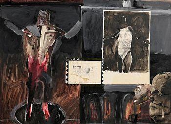 Patrick Graham, Totem and Ashes 3 (1987) at Morgan O'Driscoll Art Auctions