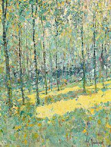 Arthur K. Maderson, Poplars at Morgan O'Driscoll Art Auctions