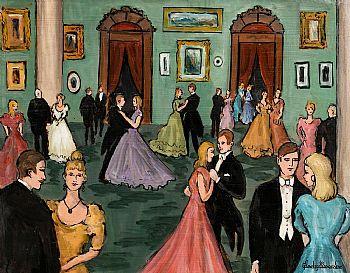 Gladys MacCabe, Dress Dance at Morgan O'Driscoll Art Auctions