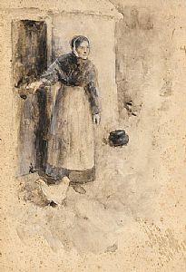 John Butler Yeats, Waiting the Arrival at Morgan O'Driscoll Art Auctions