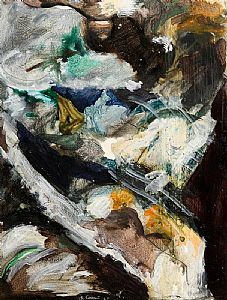 Barrie Cooke, Rushing River (1967) at Morgan O'Driscoll Art Auctions